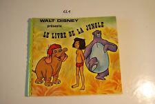 EL1 Livre - Le livre de la jungle - Walt Disney -
