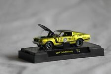 Ford Mustang 1968 Fastback M2 Auto Mods 1/64 Gold