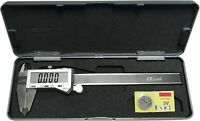 """6"""" Digital Electronic Caliper Fractional 3 Way LCD Stainless EZ Cal By iGaging"""