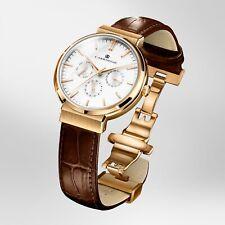 CARRNEGIE WATCHES Luxury Men's Wrist Watch - Premier Rose Gold White