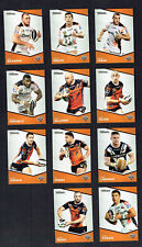2014  WESTS TIGERS  TRADERS  RUGBY LEAGUE CARDS