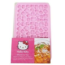 Sanrio Hello Kitty Silicone Crash Ice Pink Tray for Girls Sale in Japan Only