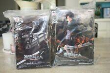 Anime Attack on Titan - LEVI - Master Stars Piece Figure with 3D Manuever