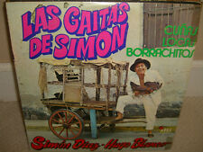 Simon Diaz Hugo Blanco - Las Gaitas De Simon - Rare LP in Good Conditions - L3