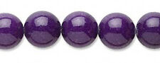 Purple Mountain Jade Gemstone Round Beads 10MM