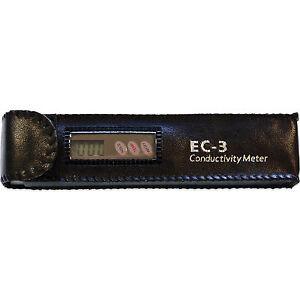 HM Digital EC-3 Leitwert Messgerät Leitfähigkeits-  Temperaturmessgerät Original