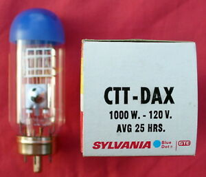 Projector Lamp - Sylvania CTT-DAX 1000 watt 120 volt avg. 25hrs - NEW! No Res!