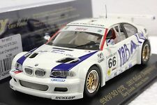 FLY A286 BMW M3 GTR YAB YUM NEW 1/32 SLOT CAR IN DISPLAY 22,000 RPM MOTOR
