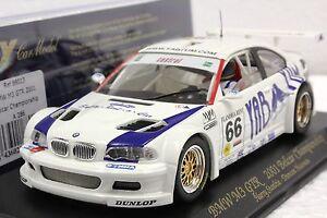 FLY A286 BMW M3 GTR YAB YUM NEW 1/32 SLOT CAR IN DISPLAY 22,000 RPM MOTOR