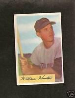 1954 Bowman # 5 Bill Hunter EX+