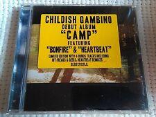 "CHILDISH GAMBINO - "" CAMP "" CD + 4 BONUS TRACK LIMITED EDITION 2012 SEALED"