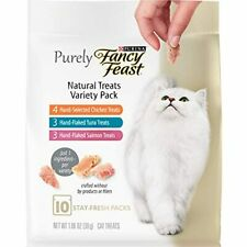 Purina Fancy Feast Cat Treats (5) 10 Ct. Pouches