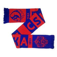 FC CSKA Moscow scarf. Russian football club. Soccer team. Red Army.
