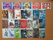 Telephone phonecards Latvia - lot of different 26 cards