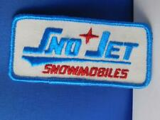 Vintage 1970/'s Original 1 Creme background Sno Jet Snowmobile Keychain