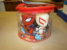 Marvel Spider-Man Squirter Toys Spider-Man, 2099, Symbiote, Kid Arachnid, Gwen