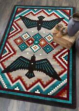 American Dakota Sunset Dance Electric Southwestern Country Area Rug 4' x 5'
