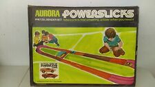 1970 Aurora Powerslicks Slot Car Pretzel Bender Set Sealed MIB Never Opened