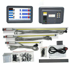 2/3Achsen Digitalanzeige DRO LCD TSLCD Lineare Skala Scale Hohe Präzision CNC