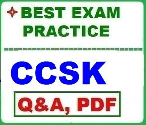 CCSK Certificate of Cloud Security Knowledge- BEST EXAM Q&A