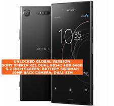 """SONY XPERIA XZ1 G8342 Dual Sim 4gb 64gb Octa Core 5.2"""" Hd 19mp 4g Lte Smartphone"""