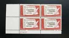 US STAMPS SCOTT # 1230 5c  CAROLINA CHARTER PB4 STAMPS MNH 1963