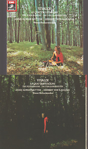 Vivaldi Les 4 Saisons Cd Anne Sophie Mutter Herbert Von Karajan EMI West Germany