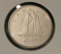 1989 Canada Ten Cents - UNCIRCULATED - from original mint roll