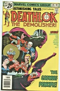Marvel Comics: Astonishing Tales #36 (2nd Series)  VF+