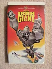 THE IRON GIANT WARNER BROTHERS VHS TAPE 1999 VCR KIDS MOVIE