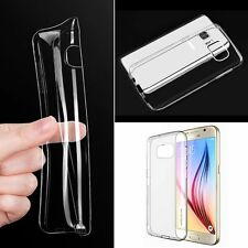 Ultra Thin Clear Soft Gel Transparent Silicone TPU case cover For Samsung Galaxy