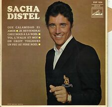 SACHA DISTEL QUE CALAMIDAD EL AMOR FRENCH ORIG EP ROGER LECUSSANT / J. DENJEAN