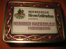Heinrich Haeberlein Blechdose  Weihnachtsmotiv