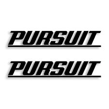 Pursuit Boats Vinyl Decal Sticker Set of 2 Free Shipping
