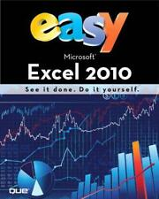 Easy Microsoft Excel 2010 by Michael Alexander | Paperback Book | 9780789743756