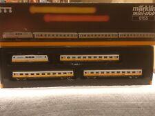 Marklin Z Gauge 8155 Lufthansa Airport Express Passenger Set Boxed