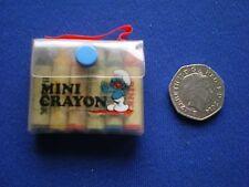 I PUFFI MINI Crayon Set-vecchio negozio STOCK 1980s