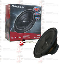 """PIONEER CHAMPION SERIES TS-W126M 12"""" SINGLE 4 OHM CAR AUDIO SUBWOOFER 300W RMS"""