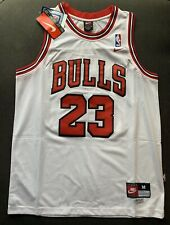 Michael Jordan #23 Chicago Bulls White Men's Jersey NWT