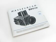 Hasselblad 501CM Instruction Manual Multi Language