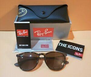 Ray-Ban New Havana (Tortoise) Polarized Erika Sunglasses RB 4171 710/T5 54mm