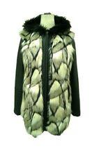 Plus Size Faux Fur Waist Length Coats & Jackets for Women