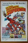 THE THREE FANTASTIC SUPERMEN Original 1976 US One Sheet Movie Poster