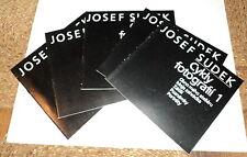 CZECH Photographer JOSEF SUDEK - COMPLETE 5 VOLUME SET - ILLUSTRATED 1982-1986