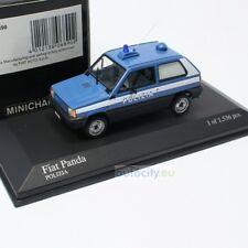 Minichamps 433121490 Fiat Panda 1980 Polizia italiana Modellino