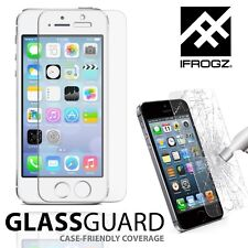 Ifrogz Tempered Glass Screen Protector Film For iPhone 5 5S SE 5C Extra Strong