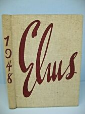 1948 Elms, NY State College f/Teachers (State Univ College) Buffalo, NY Yearbook