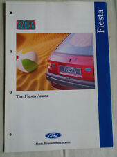 Ford Fiesta Azura brochure May 1994
