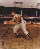 Al Dark Boston Braves Autographed Signed 8x10 Photo DECEASED