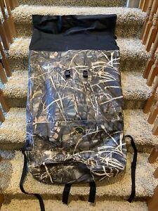 Cabelas Waterproof Hunting Dry Bag Backpack Extra Large Realtree Advantage Max 4